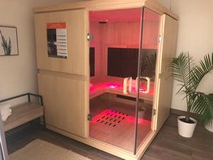 Large sauna - Red