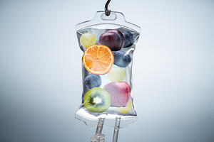 nutritional IV vitamin drip