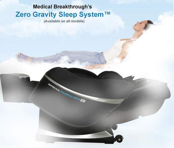 massage zero gravity